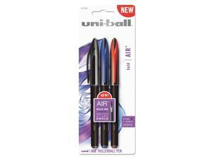 uni-ball Air Rollerball Pen .7 mm Assorted Ink 3/Pack 1927595