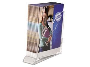 Swingline Stratus Acrylic Magazine Rack 3 1/2 x 10 1/4 x 10 1/2 Clear 10133