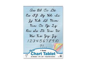 Pacon Colored Paper Chart Tablets