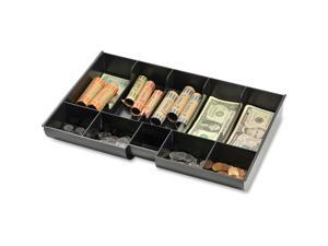 "Replacement Plastic Money Tray 14-3/4""x9-15/16""x2-1/8"" BK"