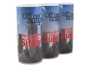Office Snax Reclosable Canister of Sugar 20 oz 3/Pack 00019G