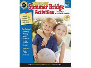 CARSON-DELLOSA Summer Bridge Activity, Grades K -1 704696
