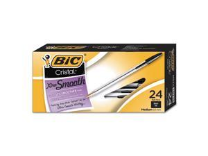 BIC Pen,Cristal Med,24/Pk,Bk MS241BK