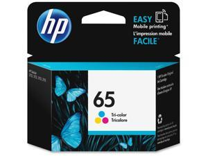 HP 65 Ink Cartridge - Cyan/Magenta/Yellow