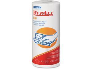 "Kimberly-Clark Wiper L30 Small Roll 11""x10.4"" 70 Shts 24/CT White 05843CT"