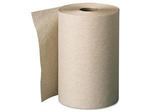 Georgia Pacific 26401 Envision Unperforated Paper Towel Rolls- 7-7/8 x 350'- Brown- 12/Carton