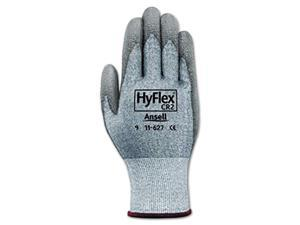 HyFlex 627 Light-Duty Gloves Size 10 Dyneema/Lycra/Polyurethane GY 12 Pairs