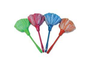 """Unisan Microfeather Mini Duster Microfiber Feathers 11"""" Assorted Colors"""