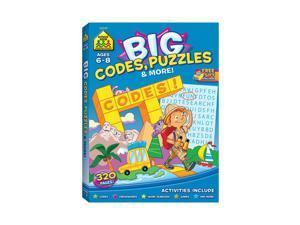 School Zone Big Workbook Alphabet Codes Puzzles 06349