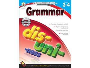 CARSON-DELLOSA Grammar Book Gr 3-4 104634