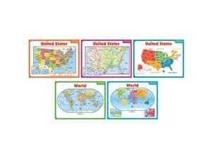 Scholastic Teaching Maps Bb Set 541743