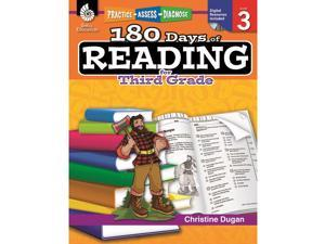 Shell Education 180 Days Of Reading Book For Third Grade 50924