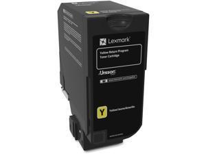 Lexmark 74C10Y0 Return Program Toner Cartridge - Yellow