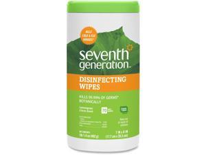 Seventh Generation Botanical Disinfecting Wipes 7 x 8 70 Count 6/Carton 22813CT