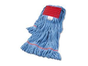 Boardwalk Super Loop Wet Mop Head Cotton/Synthetic Large Size Blue 12/Carton