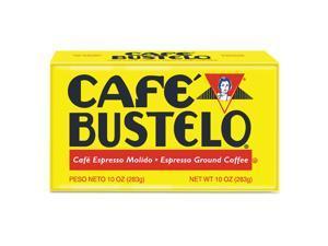 Café Bustelo Coffee Espresso 10 oz Brick Pack 24/Carton 01720CT
