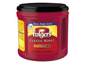 Folgers Coffee Classic Roast Ground 30.5 oz Canister 6/Carton 20421CT
