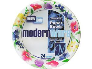 Ajm Modernware Paper Bowls Hvy-Dty 20oz. 288/CT MI DB20MW012