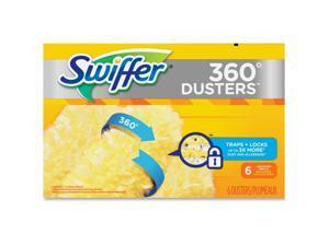 Swiffer 360 Dusters Refill Dust Lock Fiber Yellow 6/Box 4 Box/Carton 21620CT