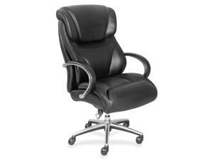 "La-Z-Boy Executive Chair - Black - Faux Leather - 32.8"" Width x 27.8"" Depth x 45.3"" Height  LZB48080"