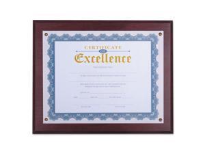"""Award Plaque, 13 1/3"""" x 11"""", Mahogany 76825"""