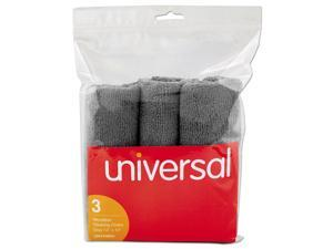 Universal Microfiber Cleaning Cloth 12 x 12 Gray 3/Pack 43664