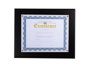 "Award Plaque, 13 1/3"" x 11"", Black 76827"