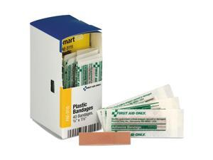 First Aid Only FAE3115 Refill F/Smartcompliance Gen Business Cabinet, Plastic Bandages, 3/8 X1.5, 40/Bx
