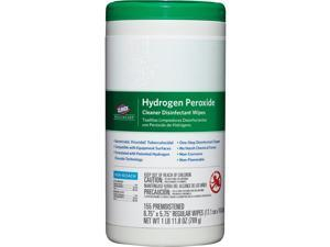Disinfecting Wipes w/Hydrogen Peroxide 155 Wipes WE
