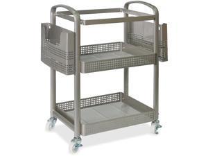 "Lorell Mobile File Cart Heavy-Duty 22-2/5""Wx12-1/2""Lx25-1/4""H SR 45654"