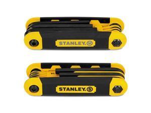 Folding Metric and SAE Hex Keys, 2/Pk STHT71839