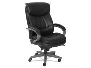 La-Z-Boy 48961A Woodbury Big and Tall Executive Chair, Black