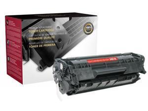 CIG 113408P Remanufactured Toner Cartridge Replaces HP Q2612A, 12A; MICR