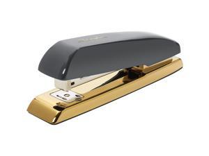 "Swingline Desk Stapler 20-Sht Cap 1-3/5""Wx6-9/10""Lx2-1/10""H GY/GD 64703"