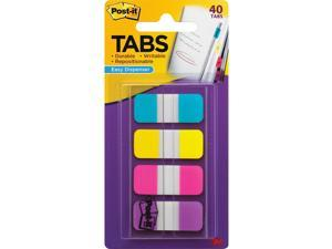 "Post-it Tabs Self-Stick 5/8"" 40/PK Assorted Primary 676AYPV"