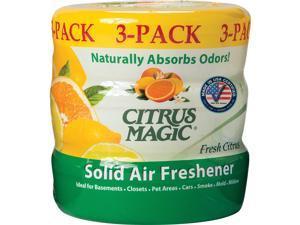 Citrus Magic Solid Air Freshener Fresh Citrus Scent 8 oz. 3/PK AST 616472149