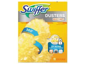 "Swiffer 360 Dusters Refill Dust Lock Fiber 2"" X 6"" Yellow 33/Carton 99035"