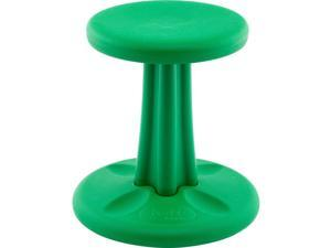Kore Wobble Chair - Age 6-7, Grade 1-2, Green (14in) Kids Wobble Chair - Flexible Seating Stool for Classroom & Elementary School, ADD/ADHD - Made in USA