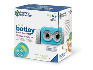 """Learning Resources Activity Set Coding Robot 9""""Wx9""""Lx6-1/5""""H Multi LER2935"""