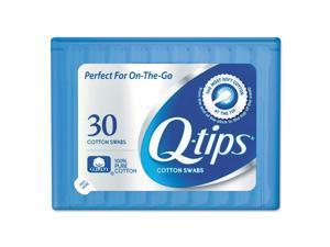Q-tips Cotton Swabs, 30/Pack, 36 Packs/Carton 22127