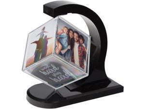"DAX Photo Cube Revolving 2-4/5""Wx5-9/10""Lx5-9/10""H Black N140225T"