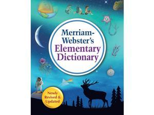 """Merriam-Webster Dictionary Elementary 8-1/4""""Wx10-1/4""""Lx1-1/4""""H Multi 7456"""
