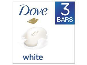 White Beauty Bar, Light Scent, 3.17 oz, 3/Pack 04090PK