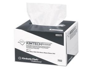 Kimtech* Precision Tissue Wipers POP-UP Box 4 2/5 x 8 2/5 White 280/BX 60 BX/CT