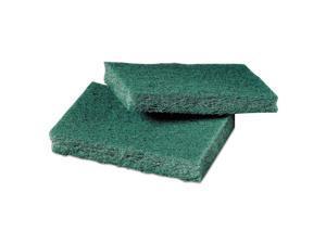 Scotch-Brite General Purpose Scrub Pad 3 x 4 1/2 Green 40 per Box 59166