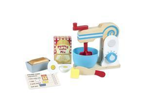 Melissa & Doug Wooden Make-a-Cake Mixer Se - Play Food & Kitchen Accessories