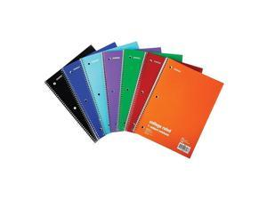 """1-Subject Notebook 8"""" x 10.5"""" College Ruled 70 Sh. Assorted"""