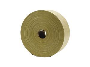 """Staples Duck Reinforced Packing Tape 2.75"""" x 166.6 Yds Brown (630639)"""
