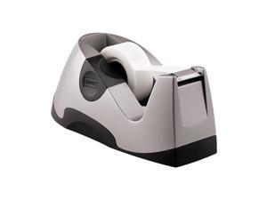 Staples Executive Desktop Tape Dispenser Silver Each (13566) 649245