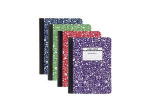 """Composition Notebook 9.75"""" x 7.5"""" Wide Ruled 100 Sh. Assorted"""